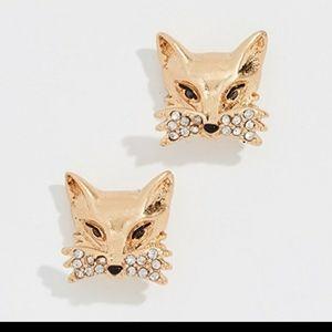Kate Spade So Foxy Fox Earrings